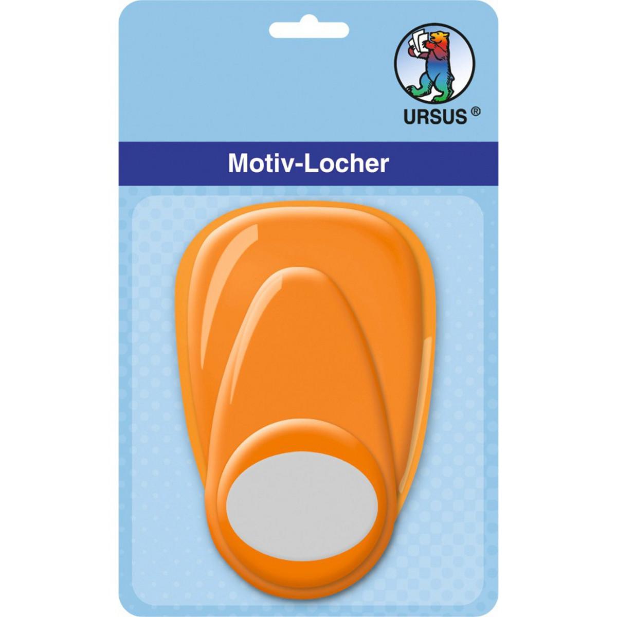 "Motiv-Locher ""mittel"" Oval"