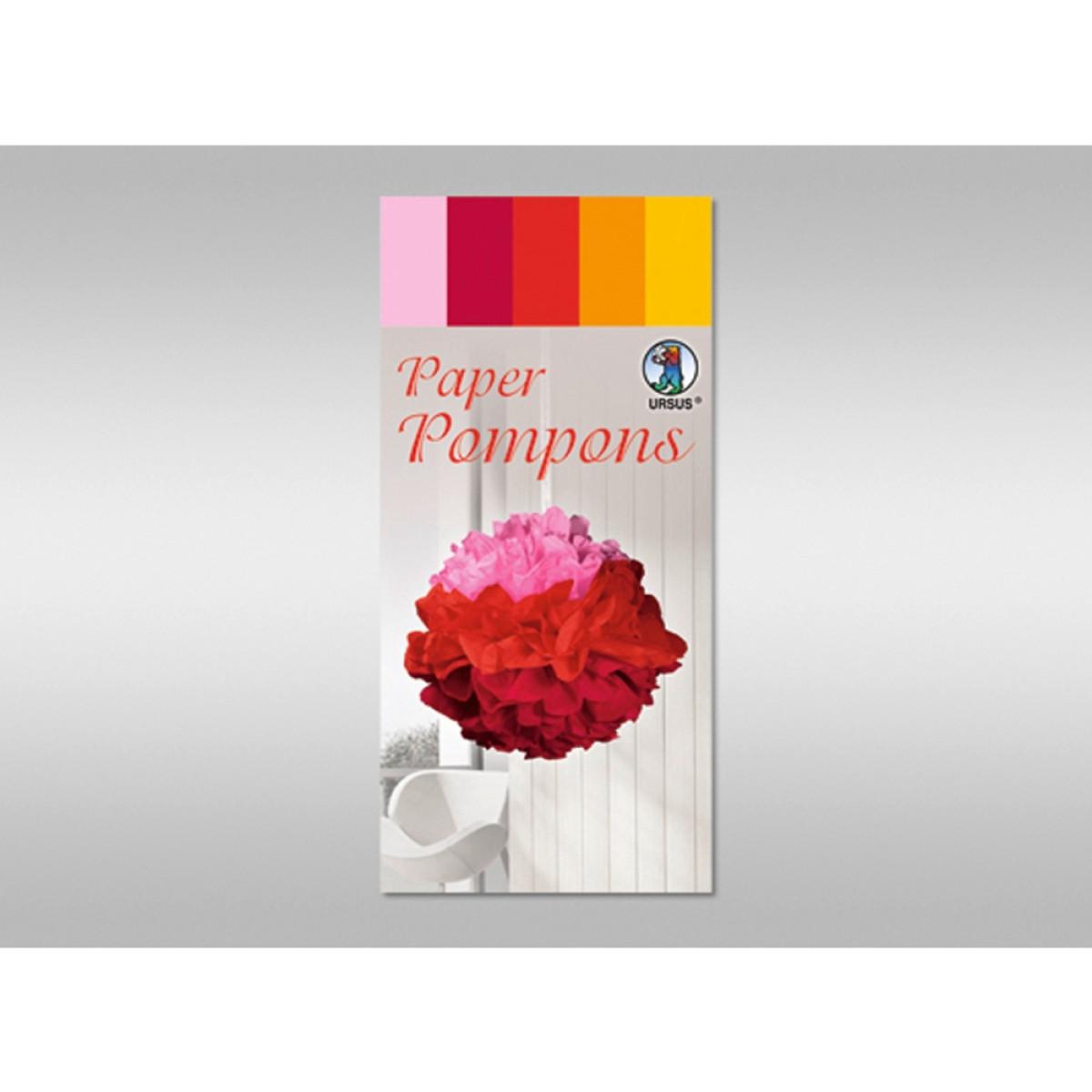 Papier Pompons - Set 1