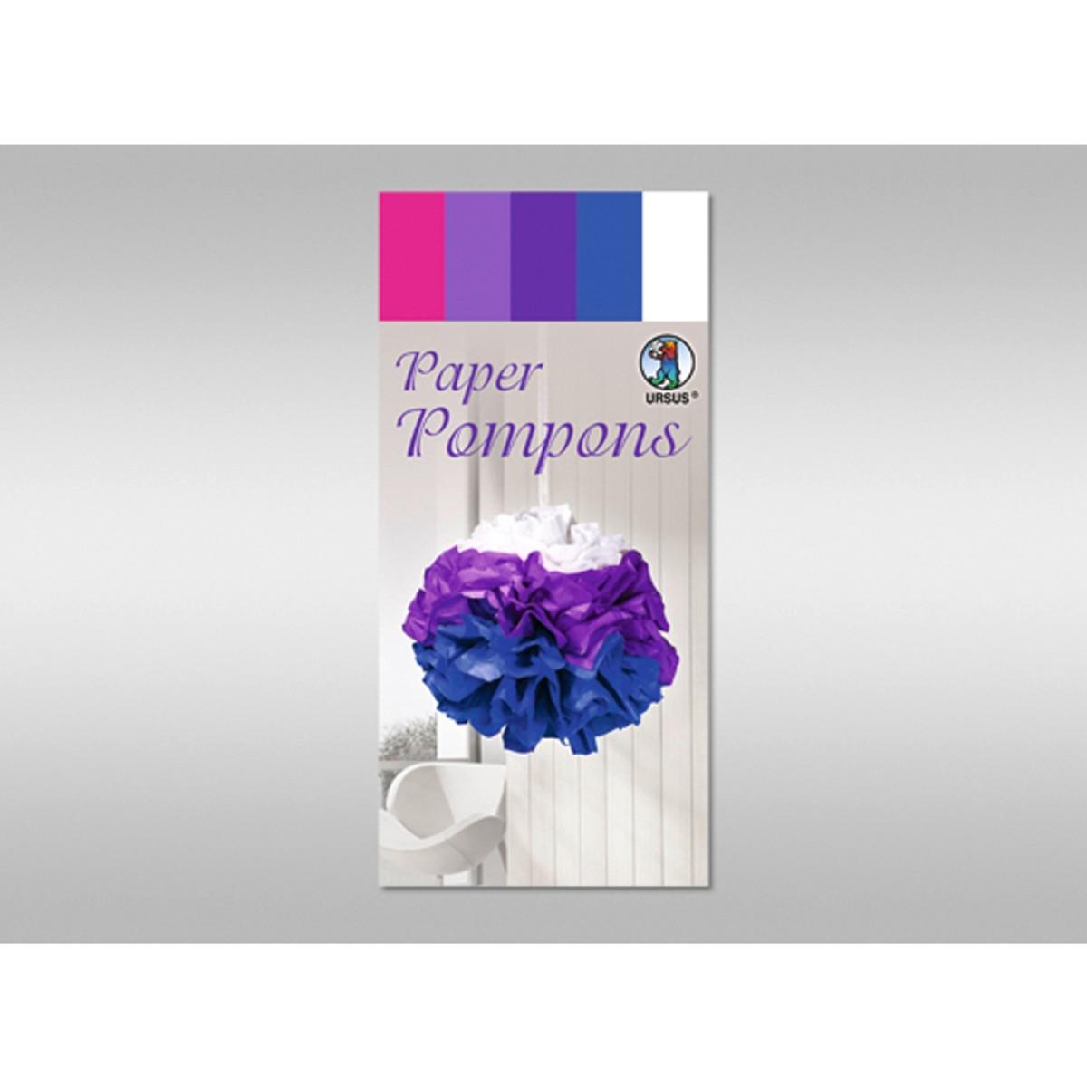 Papier Pompons - Set 3