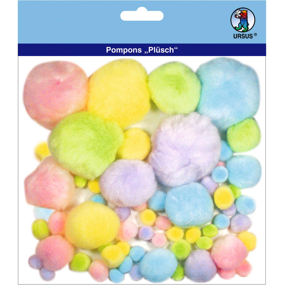 """Pompons """"Plüsch"""" Mix 1"""