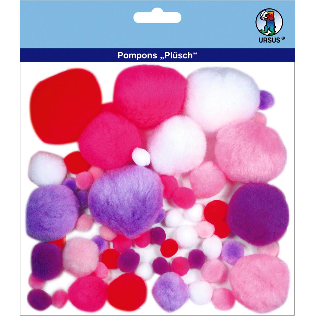 """Pompons """"Plüsch"""" Mix 3"""