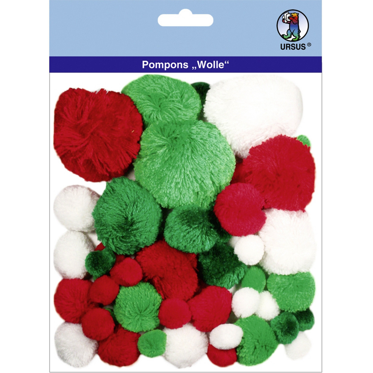 """Pompons """"Wolle"""" Mix 9"""
