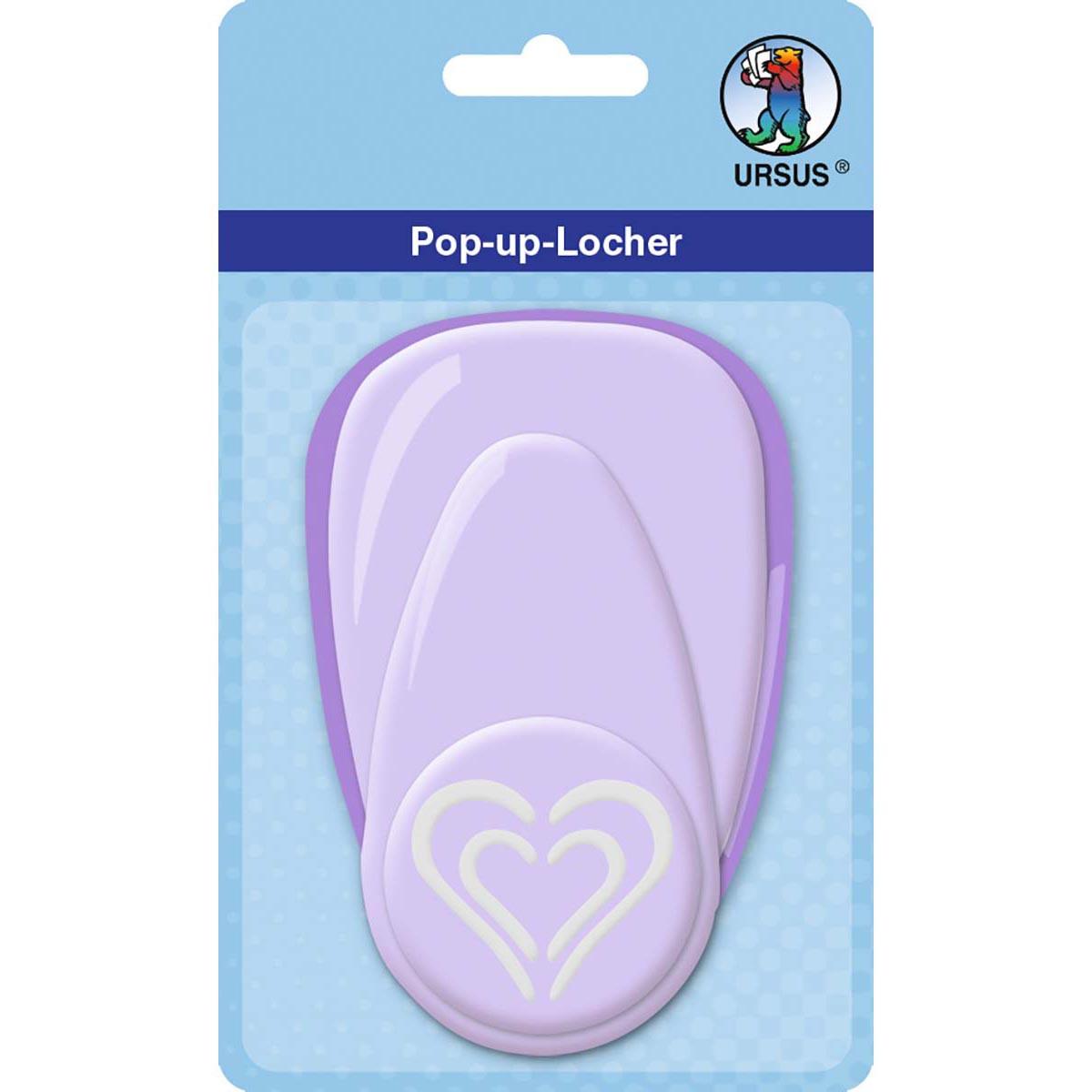 """Pop-Up-Locher """"groß"""" Herz"""