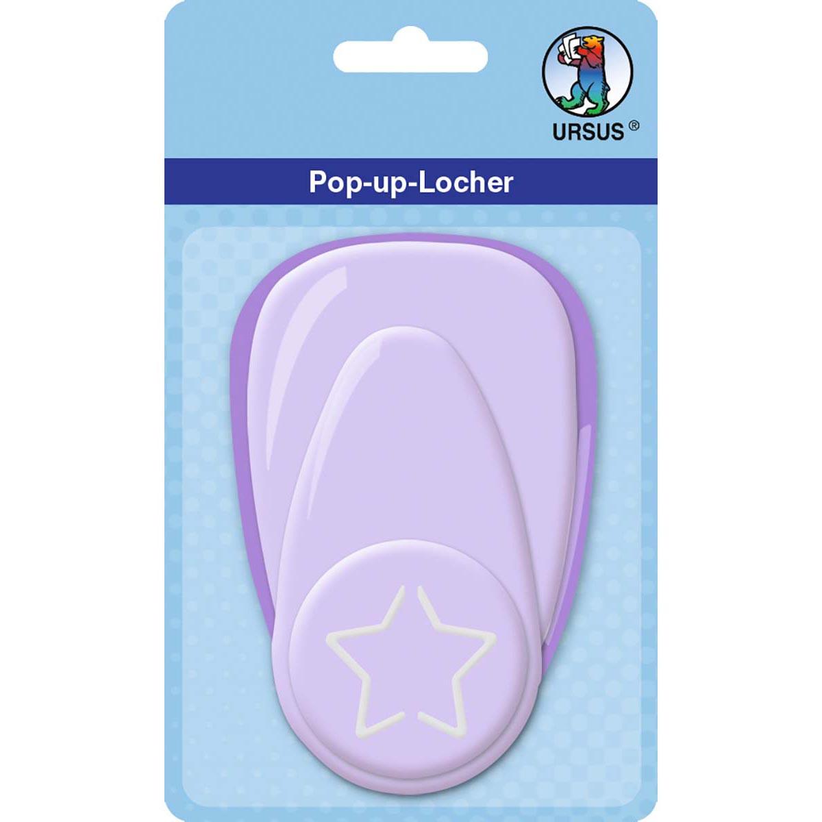 """Pop-Up-Locher """"groß"""" Stern"""