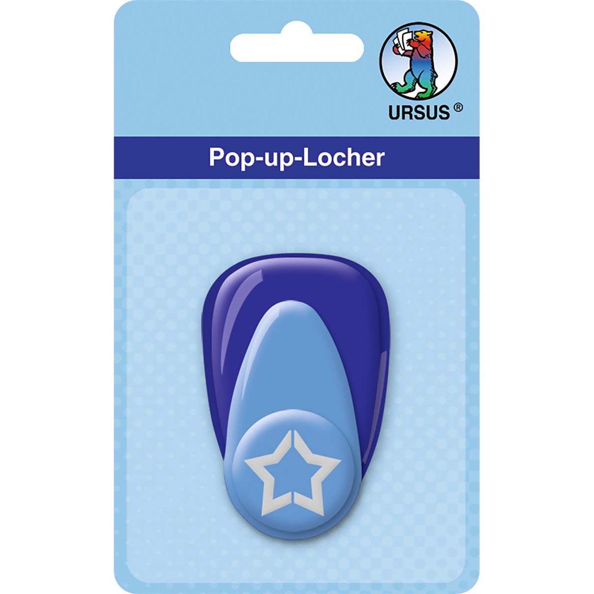 """Pop-Up-Locher """"mittel"""" Stern"""
