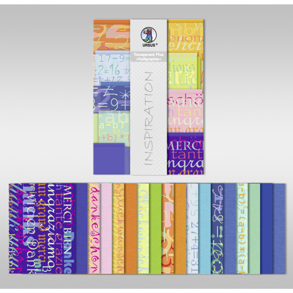"Transparentpapier Plus ""Kaligraphie"" DIN A4 - 18 Blatt"