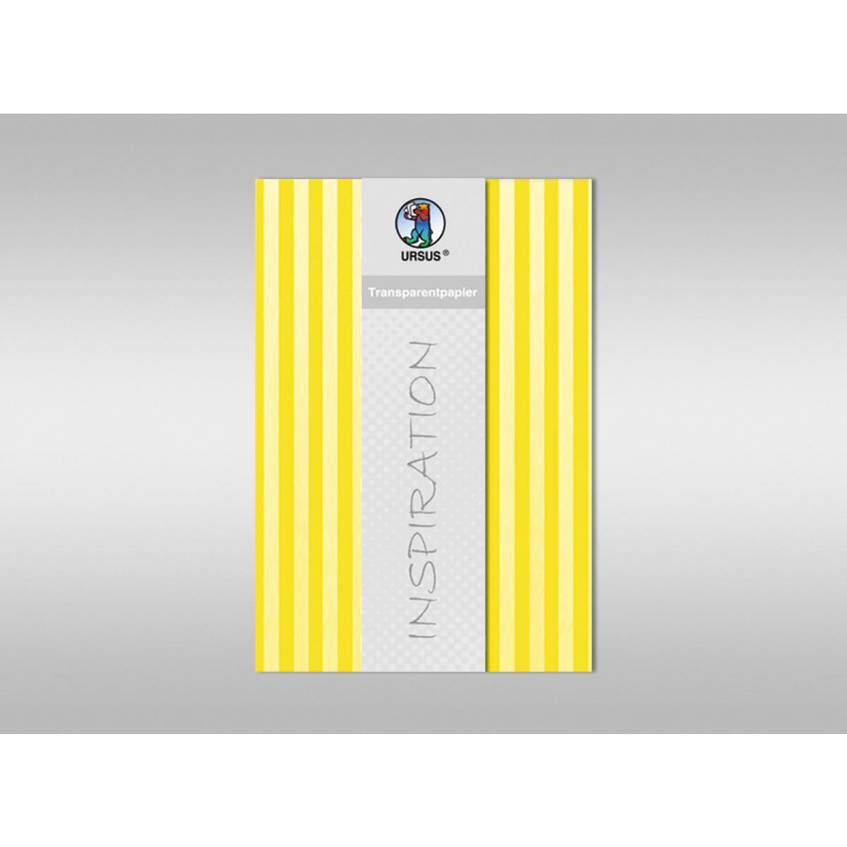 """Transparentpapier """"Streifen"""" DIN A4 - 25 Blatt"""
