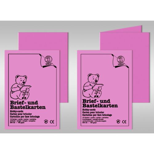 Brief Und Klingelanlagen : Brief und bastelkarten din a karten buntpapierwelt