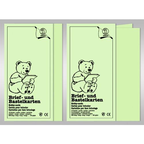 Brief Und Klingelanlagen : Brief und bastelkarten din lang karten buntpapierwelt