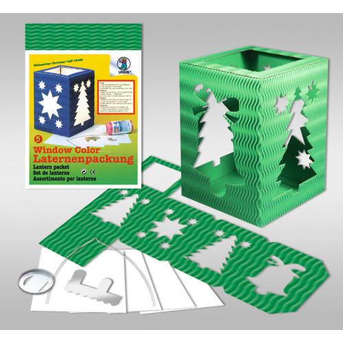 laternen packung form 5 weihnachten buntpapierwelt. Black Bedroom Furniture Sets. Home Design Ideas