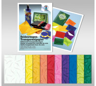 Seidenraupen-Transparentpapier 42 g/qm 50 x 70 cm - 10 Bogen