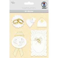 """3D-Sticker """"Hochzeit"""" Motiv 50"""