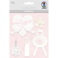 """3D-Sticker """"Hochzeit"""" Motiv 53"""