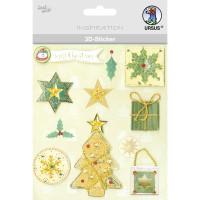"""3D-Sticker """"Weihnachten"""" Motiv 70"""