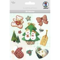 """3D-Sticker """"Weihnachten"""" Motiv 71"""