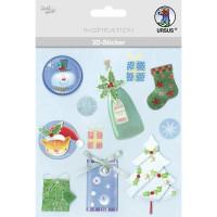 """3D-Sticker """"Weihnachten"""" Motiv 74"""