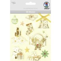 """3D-Sticker """"Weihnachten"""" Motiv 78"""