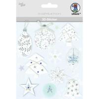 """3D-Sticker """"Weihnachten"""" Motiv 82"""