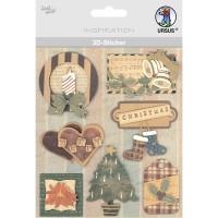 """3D-Sticker """"Weihnachten"""" Motiv 85"""