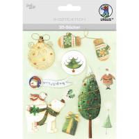 """3D-Sticker """"Weihnachten"""" Motiv 89"""