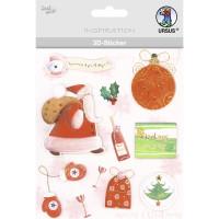 """3D-Sticker """"Weihnachten"""" Motiv 91"""