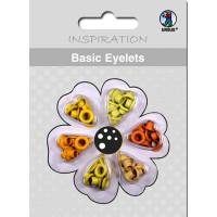 Basic Eyelets 3 mm gelb