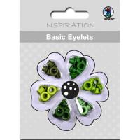 Basic Eyelets 3 mm grün