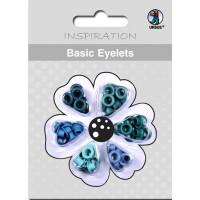 Basic Eyelets 3 mm hellblau