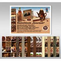 "Bastelblock ""Gourmet"" 24 x 34 cm - 16 Blatt"
