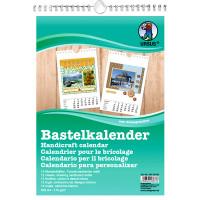 Bastelkalender DIN A4 weiß
