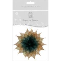 """Dekorative Akzente """"Blätter duo"""" hellbraun/schwarz"""