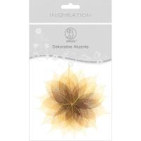 """Dekorative Akzente """"Blätter duo"""" vanille/hellbraun"""