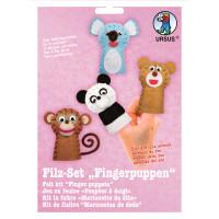 "Filz-Set ""Fingerpuppen"" Zootiere"