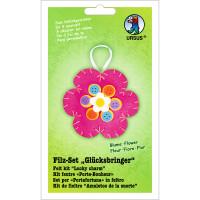"Filz-Set ""Glücksbringer"" Blume"