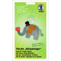 """Filz-Set """"Glücksbringer"""" Elefant"""