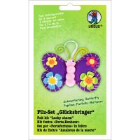 """Filz-Set """"Glücksbringer"""" Schmetterling"""