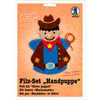 "Filz-Set ""Handpuppe"" Cowboy"