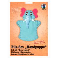 "Filz-Set ""Handpuppe"" Elefant"