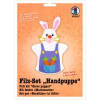 """Filz-Set """"Handpuppe"""" Hase"""