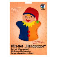 "Filz-Set ""Handpuppe"" Kasper"