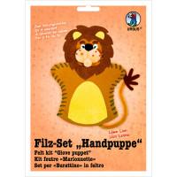 "Filz-Set ""Handpuppe"" Löwe"