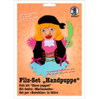 "Filz-Set ""Handpuppe"" Piratenmädchen"