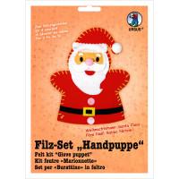 """Filz-Set """"Handpuppe"""" Weihnachten"""