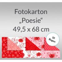"""Fotokarton """"Poesie"""" 49,5 x 68 cm Motiv 02 - 10 Bogen"""