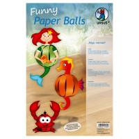 "Funny Paper Balls ""Magic Mermaid"""