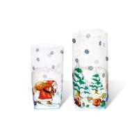 """Geschenk-Bodenbeutel """"Weihnachten"""" 11,5 x 19,0 cm - 10 Stück"""
