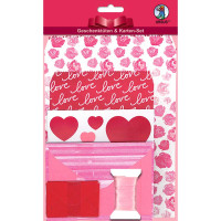 """Geschenktüten-Karten-Set """"Love"""""""