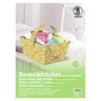 """Henkelkörbchen """"Happy Garden"""" Blumenwiese"""
