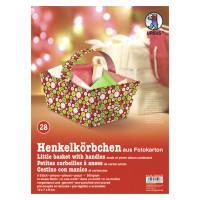 "Henkelkörbchen ""Wintertime Traditional"" Knöpfe"