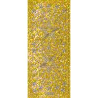 """Hologramm Sticker """"Sterne 4"""" gold"""